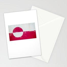 Greenland Flag design | Greenlander design Stationery Cards