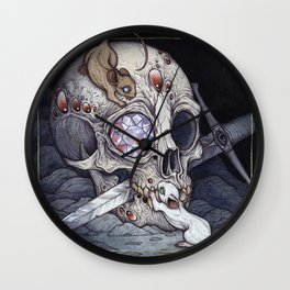 Treasure of the Devil's Bayou Wall Clock