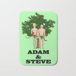 Adam & Steve! Bath Mat