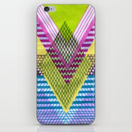 Isometric Harlequin #7 iPhone Skin
