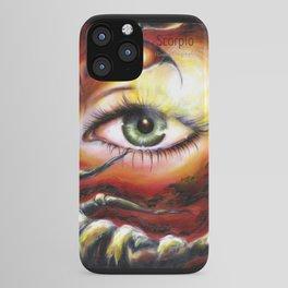 12 sign series - Scorpio iPhone Case