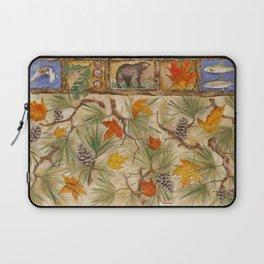 Autumn with Pine Laptop Sleeve