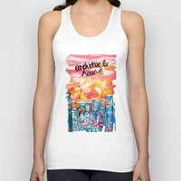 architect Tank Tops featuring Architect Heart by Anwar B