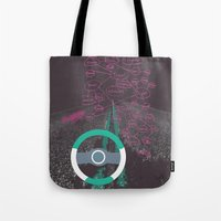 miles davis Tote Bags featuring 95 miles... by Modify New York