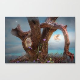 Tree In Denial Canvas Print
