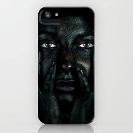 Black 03 iPhone Case