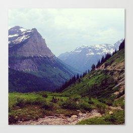 Montana Mountains  Canvas Print