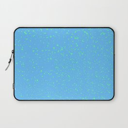 Spattered Blue  Laptop Sleeve