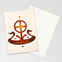 Summer Solstice - Solar Wheel Boat Stationery Cards