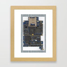 iPhone Guts Framed Art Print