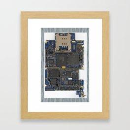iPhone Guts Framed Art Print