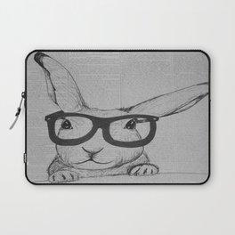 Book Bun Laptop Sleeve