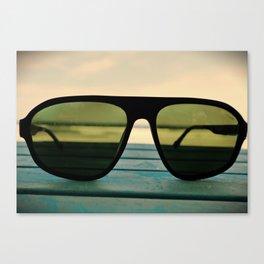 Chillax the Glass Canvas Print