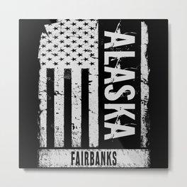Fairbanks Alaska Metal Print