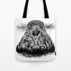 Fuming Crow Tote Bag