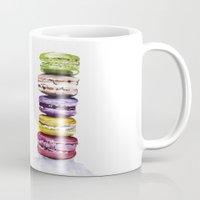 macarons Mugs featuring Macarons by Bridget Davidson