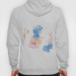 180807 Abstract Watercolour 3 | Colorful Abstract |Modern Watercolor Art Hoody