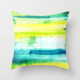 Swimming Upstream Throw Pillow