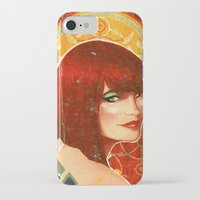 klimt iPhone & iPod Cases featuring KLIMT GIRL by Lorena Carvalho