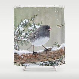 A Small Bird's Strength Shower Curtain