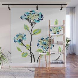Hydrangea Wall Mural