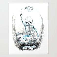 The Magician Skeleton Tarot Art Print