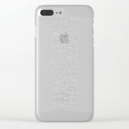 Furr Division Cats Clear iPhone Case