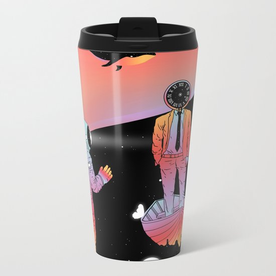 Coexistentiality 2 (A Passing View) Metal Travel Mug