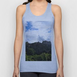 Edinburgh Castle Unisex Tank Top