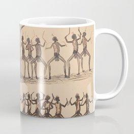 Ceremony; Hunting possum by Tommy McRae, 1880 Coffee Mug