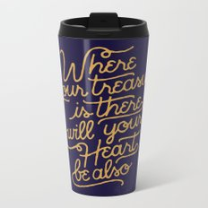 Treasure Metal Travel Mug