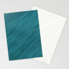 Stripes - turchese Stationery Cards