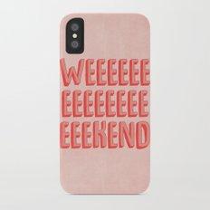 Weekend Slim Case iPhone X