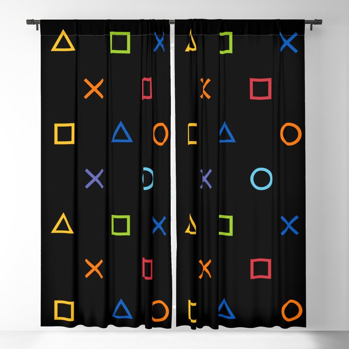 Colofrul Gamer Blackout Curtain
