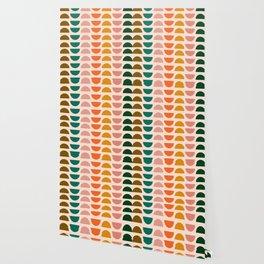 Retro 70s Geometrics Wallpaper