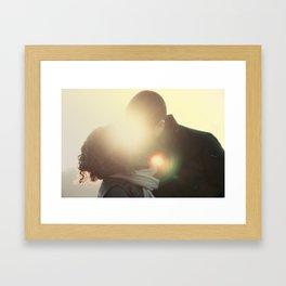 cloud of love Framed Art Print