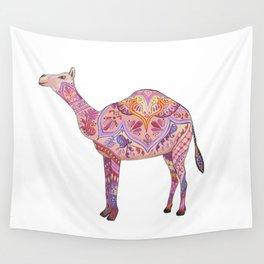 Henna Camel Wall Tapestry
