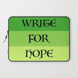 WRITE FOR HOPE Laptop Sleeve
