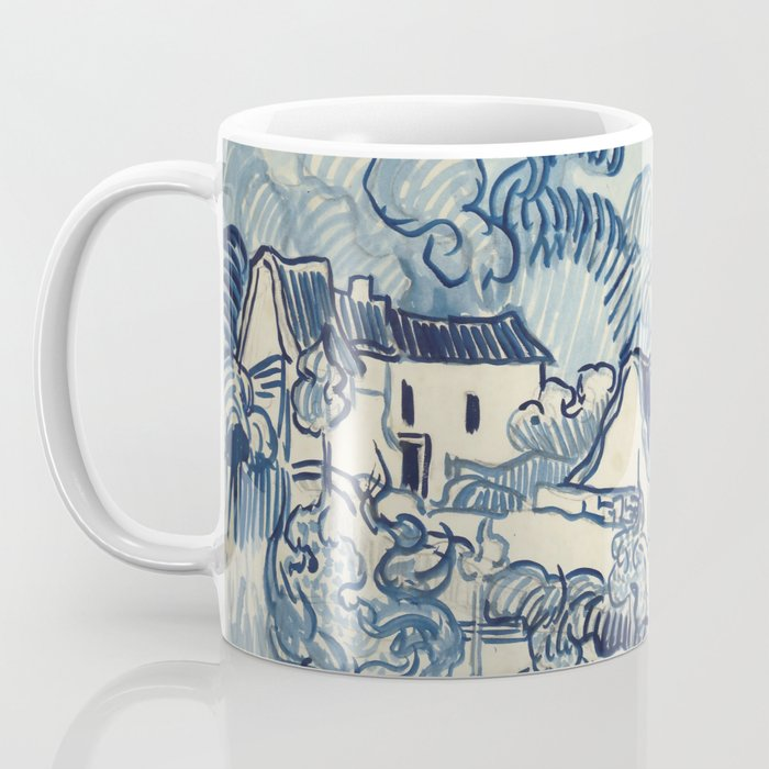 "Vincent van Gogh ""Landscape with Houses"" Coffee Mug"