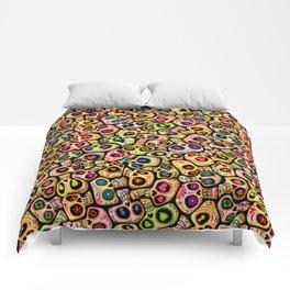 Calaveras del Día de los Muertos. Comforters