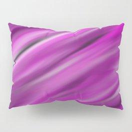 Purple Velvet - Abstract, smooth, pink, purple, silk, silky, velvet painting Pillow Sham
