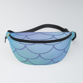 Blue & Purple Mermaid Fanny Pack