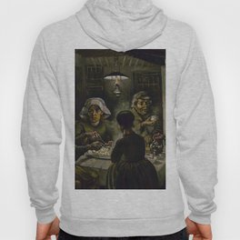1885-Vincent van Gogh-The potato eaters Hoody