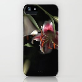 Flowering Lilies | Scanography iPhone Case