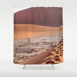 Leave only foortprints Shower Curtain