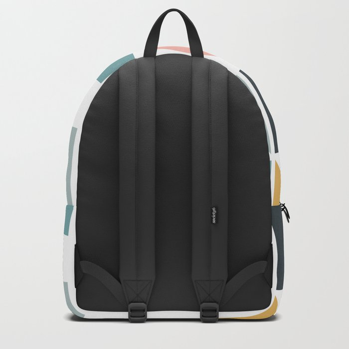 Modern Geometric 09 Backpack