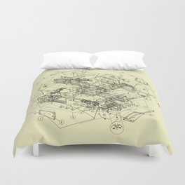 The Way Back Duvet Cover