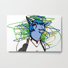 Goat Rei Metal Print