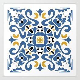 Azulejo 11 Art Print