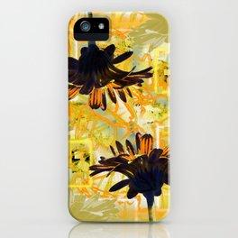 Yellow Gerber Daisies iPhone Case